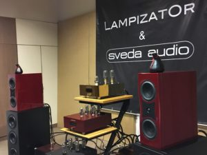 Audio Video Show 2018 LampizatOr Sveda Audio