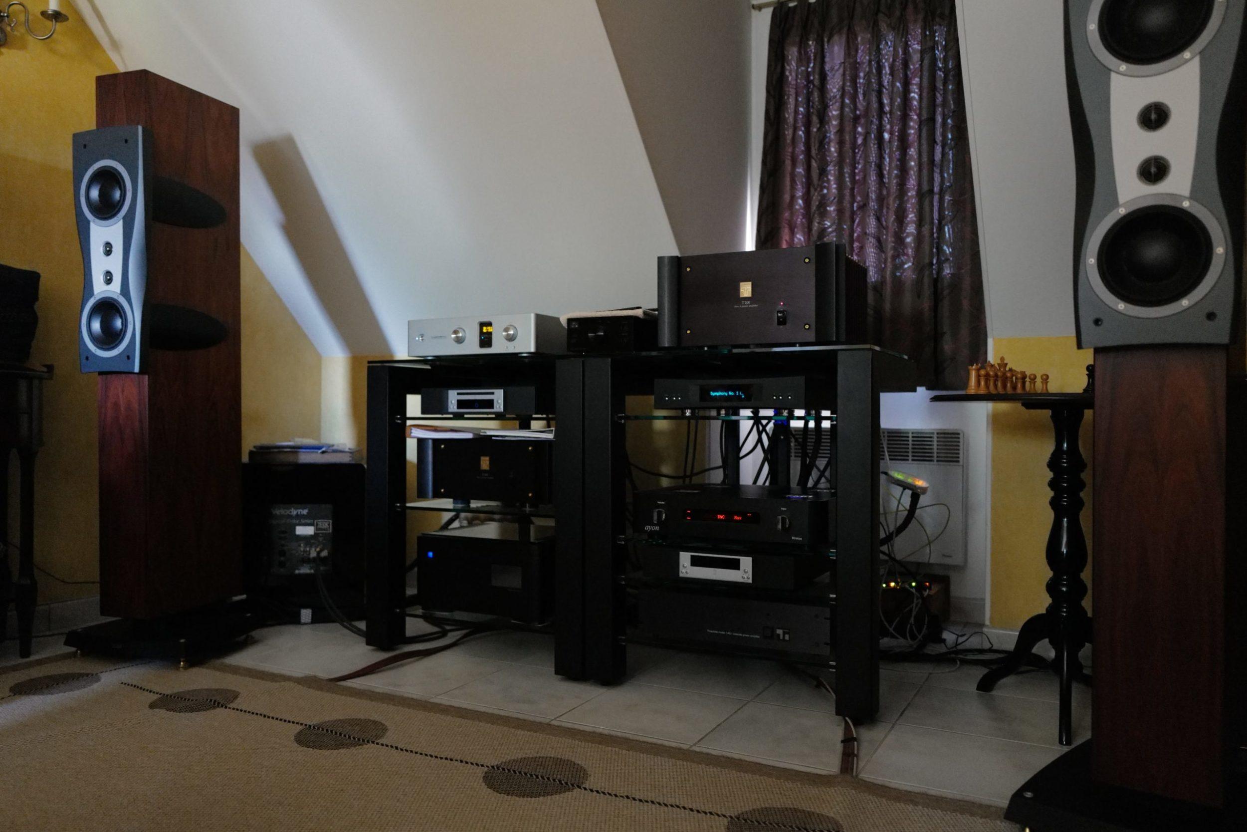 Patrick stereo set. Ethernet via StavEssence Eloquence
